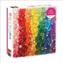 ,Rainbow Buttons 500 Piece Puzzle